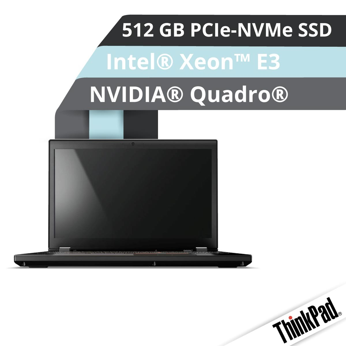 (EOL) Lenovo™ ThinkPad® P51 Workstation Modell 20HH-004R