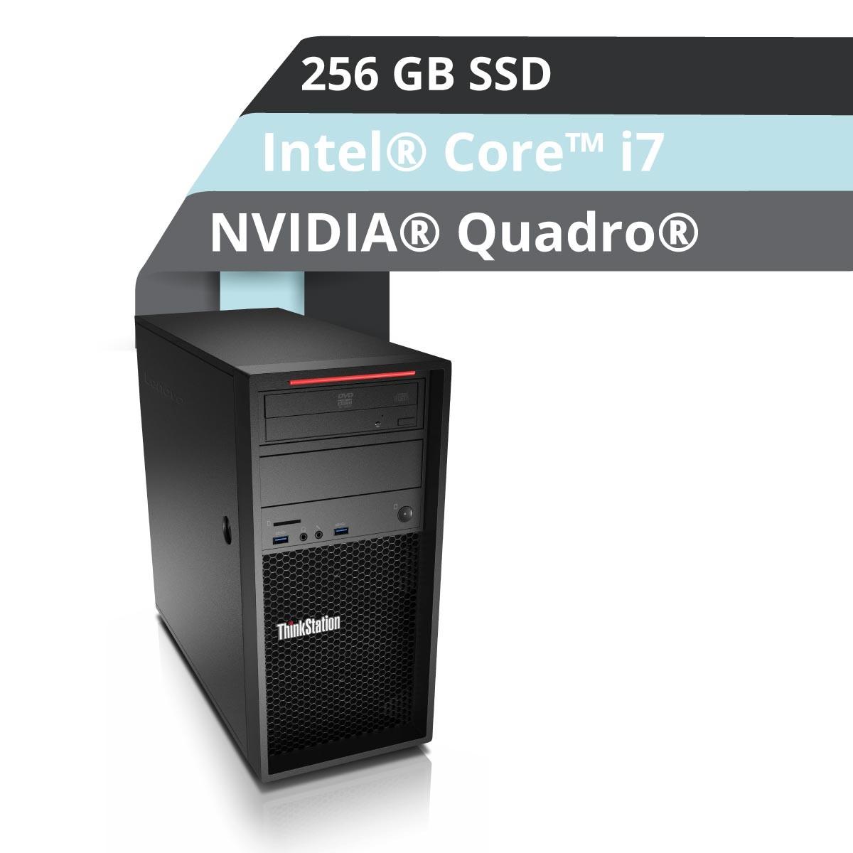 (EOL) Lenovo™ ThinkStation® P320 Tower Workstation Modell 30BH-0009