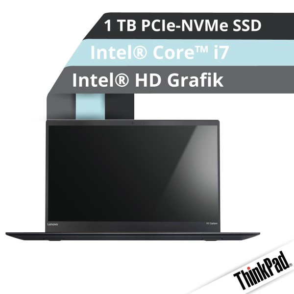 Ultrabook Notebook Lenovo™ ThinkPad® X1 Carbon Modell 20HR-0068