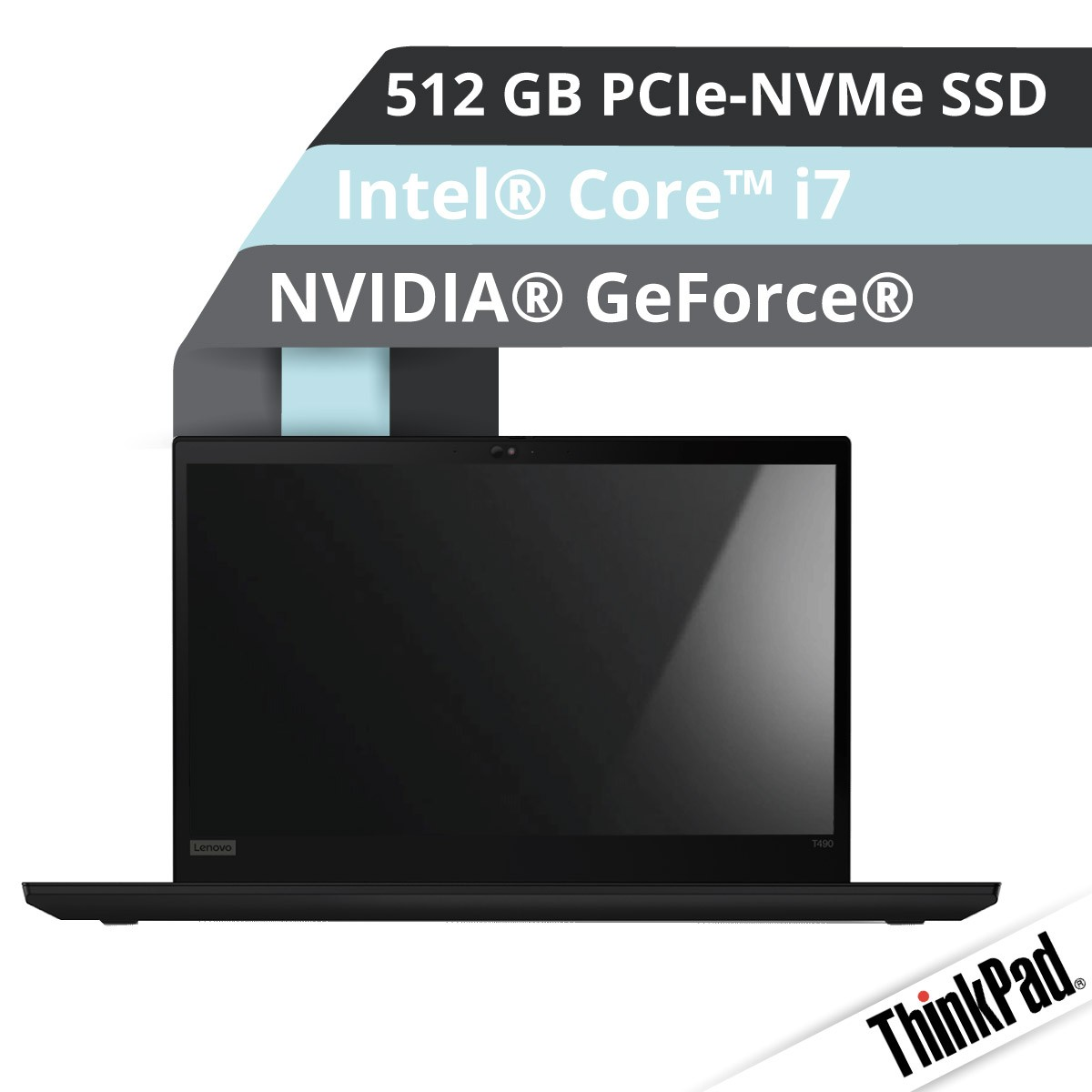 (EOL) Lenovo™ ThinkPad® T490 Notebook Modell 20N3-S02L
