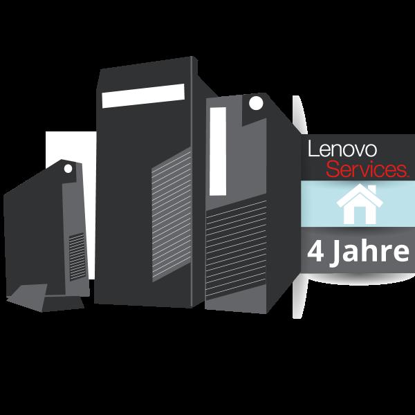 Lenovo™ ThinkPlus® 4 Jahre Vor-Ort-Service (NBD)