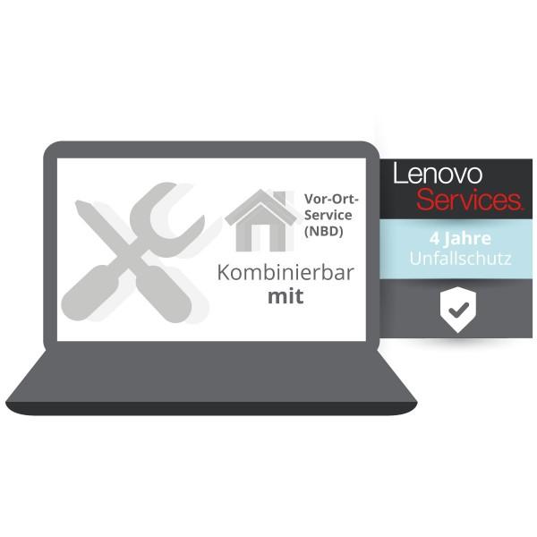 Lenovo Garantieerweiterung auf 4 Jahre Unfallschutz für Ihr ThinkPad