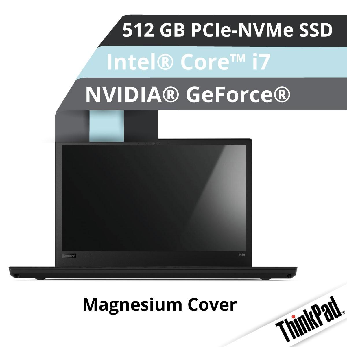 (EOL) Lenovo™ ThinkPad® T580 Notebook Modell 20L9-0026