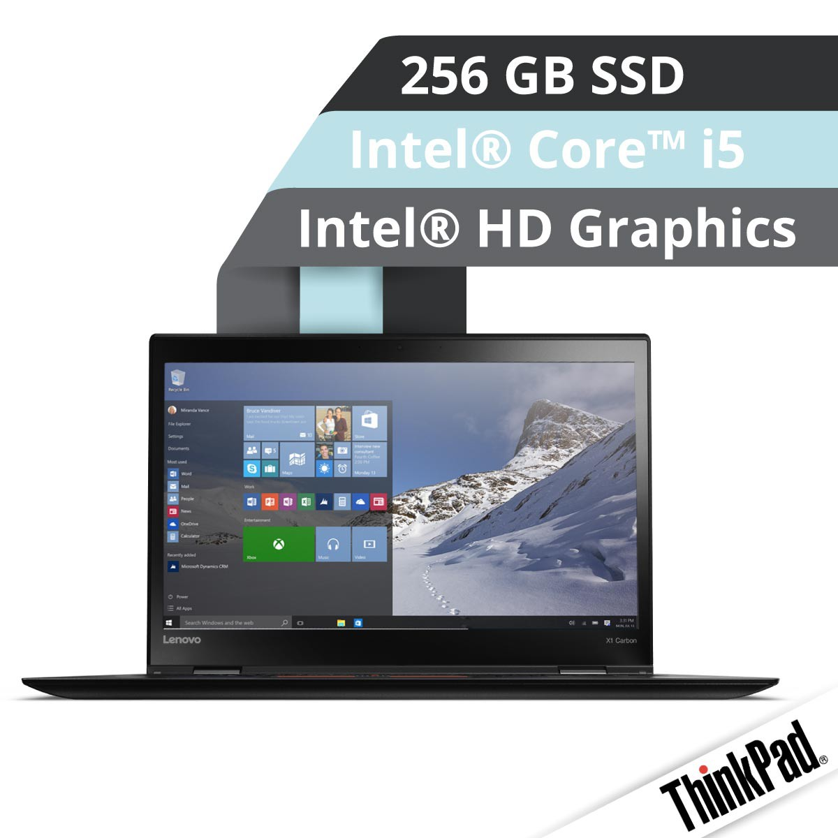 (EOL) Lenovo™ ThinkPad® X1 Carbon Ultrabook Modell 20FB-002U