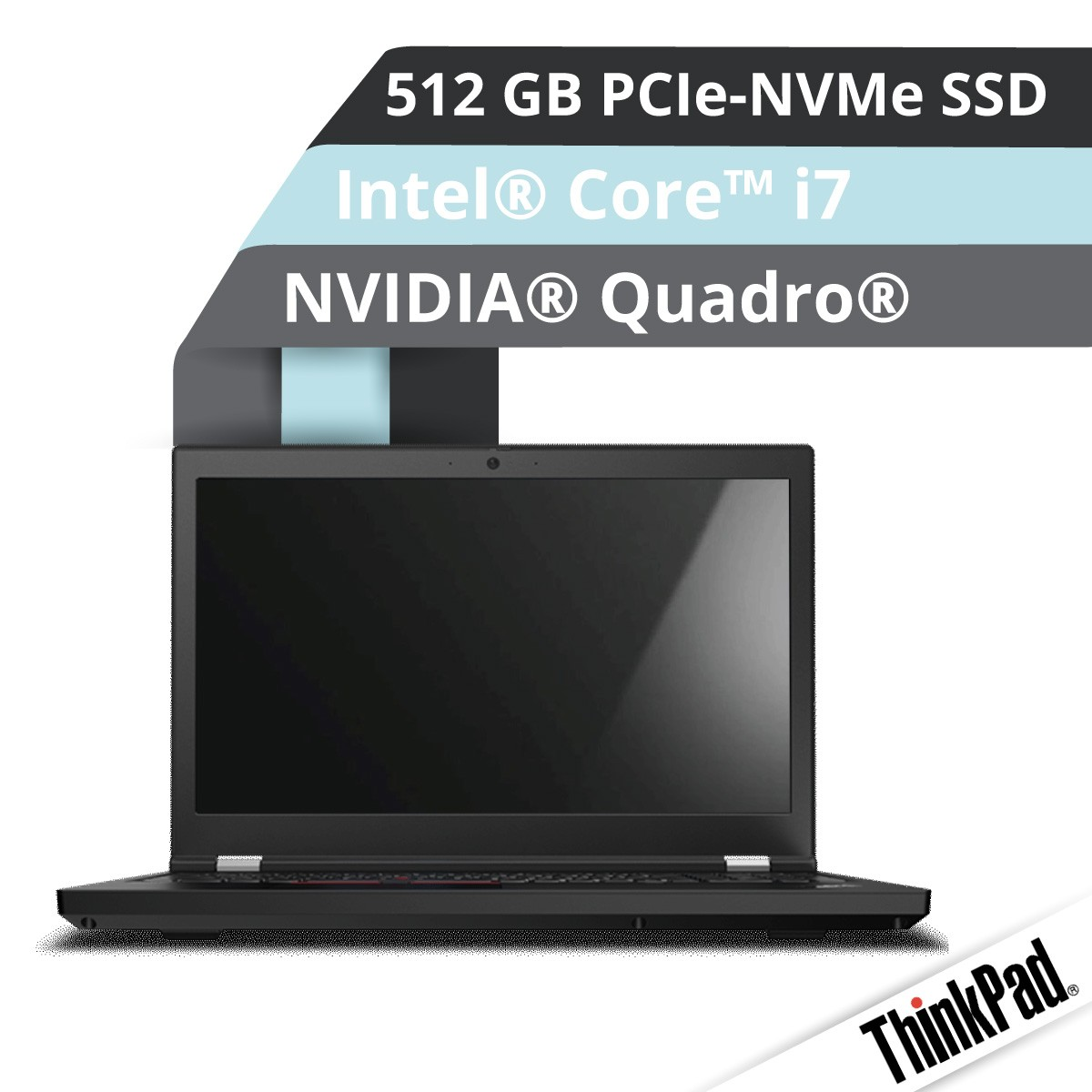 (EOL) Lenovo™ ThinkPad® P15 Notebook Modell 20ST-001L