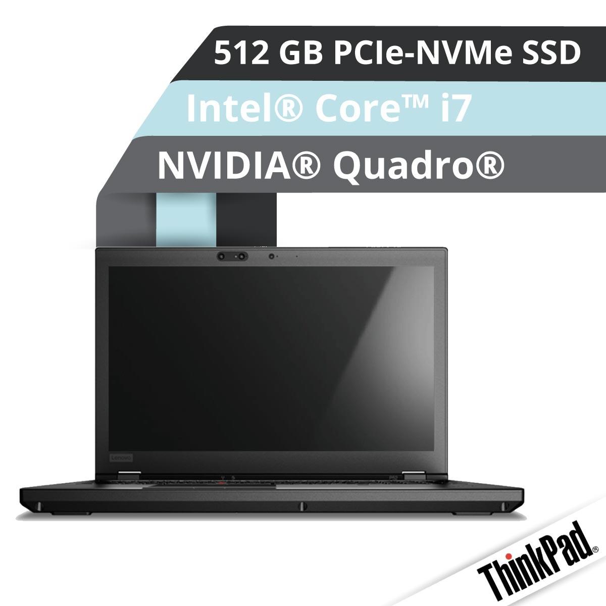 (EOL) Lenovo™ ThinkPad® P52 Workstation Modell 20M9-001M