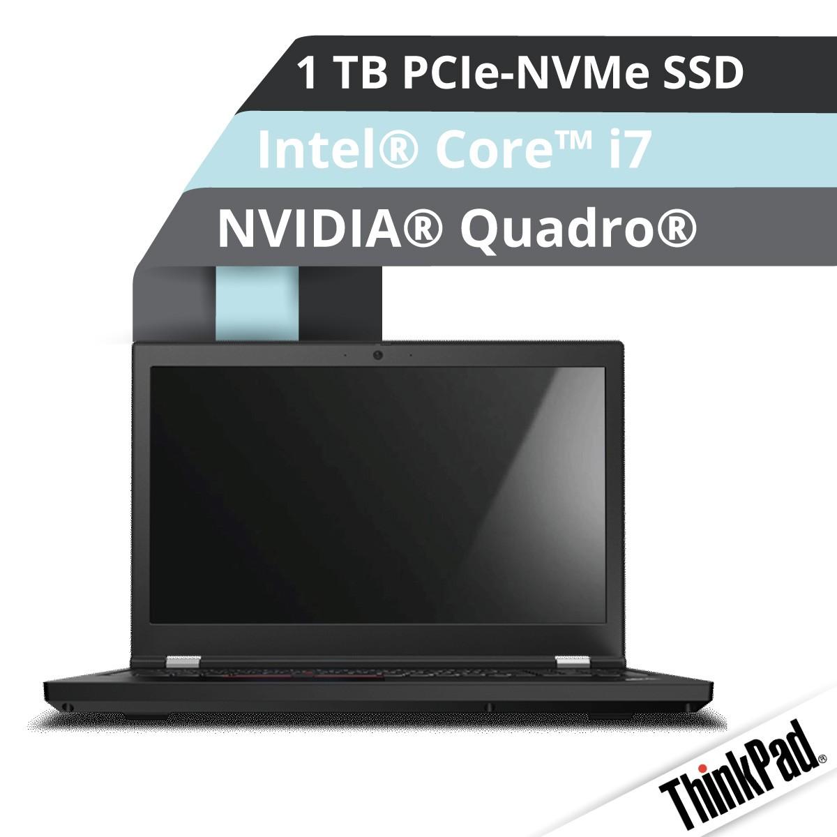 (EOL) Lenovo™ ThinkPad® P15 Notebook Modell 20ST-007S