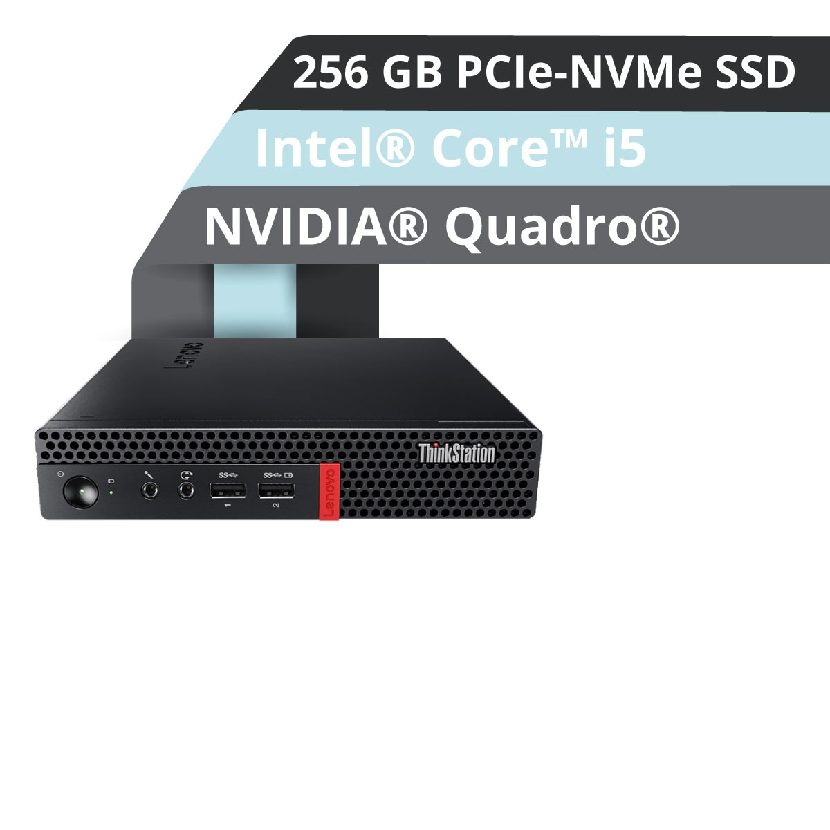 (EOL) Lenovo™ ThinkStation® P320 Tiny Workstation Modell 30C2-001U