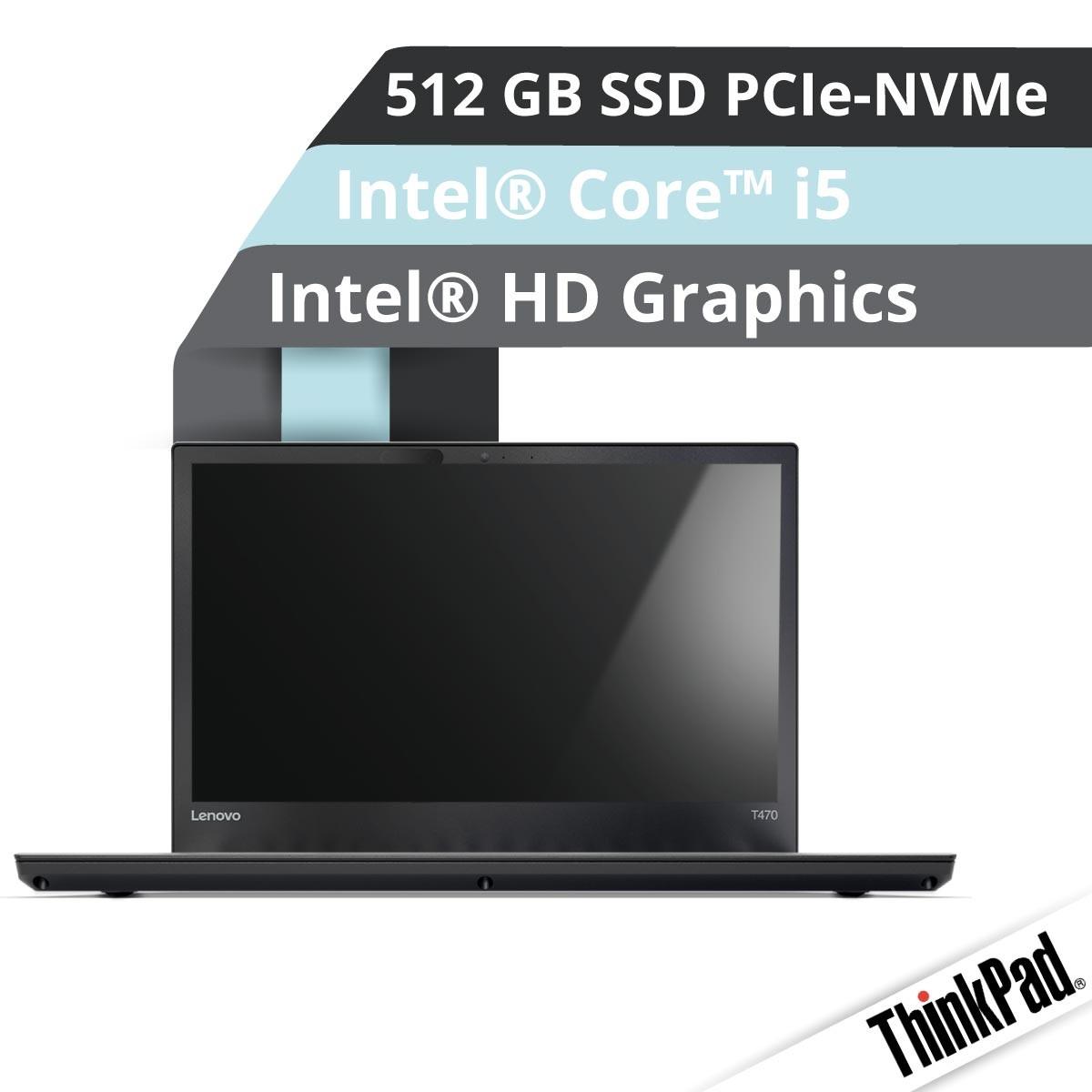 (EOL) Lenovo™ ThinkPad® T470 Notebook Modell 20HE-S011