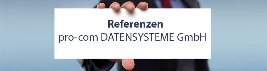 Referenzen-Banner