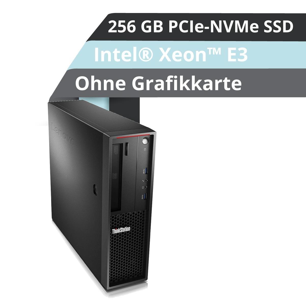 (EOL) Lenovo™ ThinkStation® P320 SFF Workstation Modell 30BK-0004