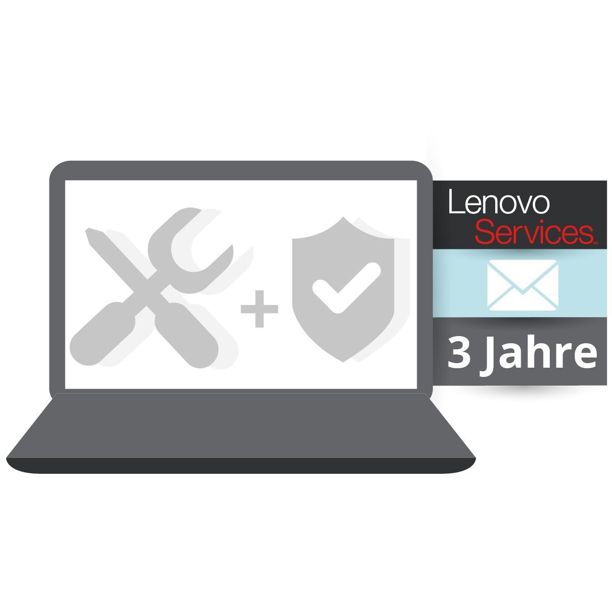 (EOL) Lenovo™ ThinkPlus® 3 Jahre Bring-In-Service (NBD) + Unfallschutz (Basisgarantie 1 Jahr Bring-I
