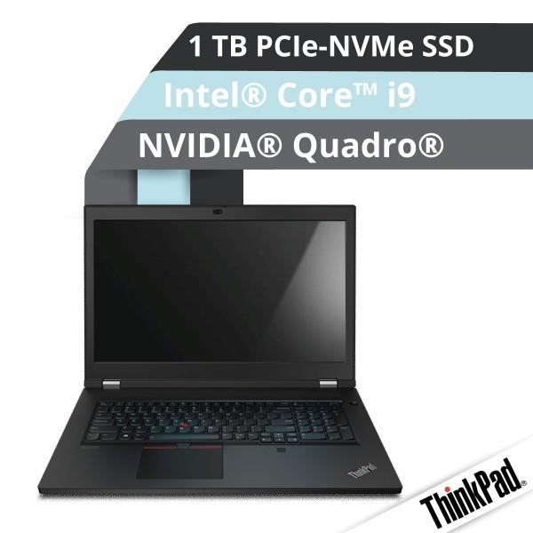 Lenovo™ ThinkPad® P17 Notebook Modell 20SN-001N