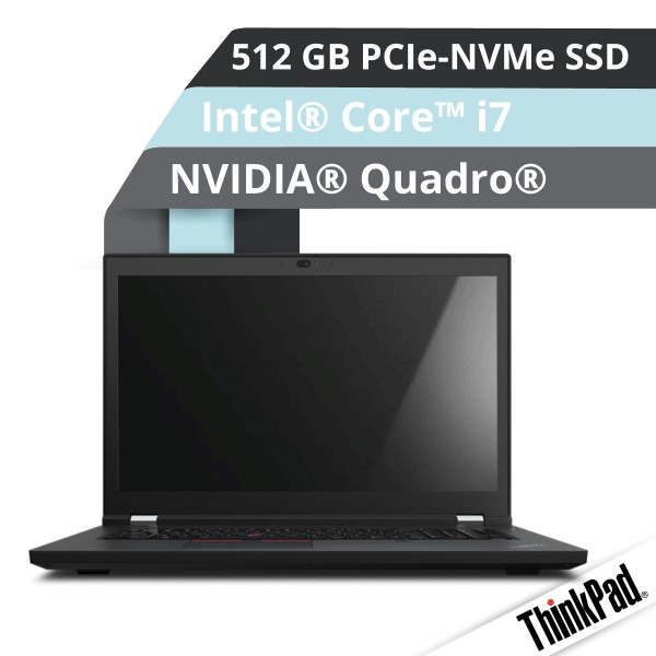Lenovo™ ThinkPad® P17 (Gen.2) Notebook Modell 20YU-0027
