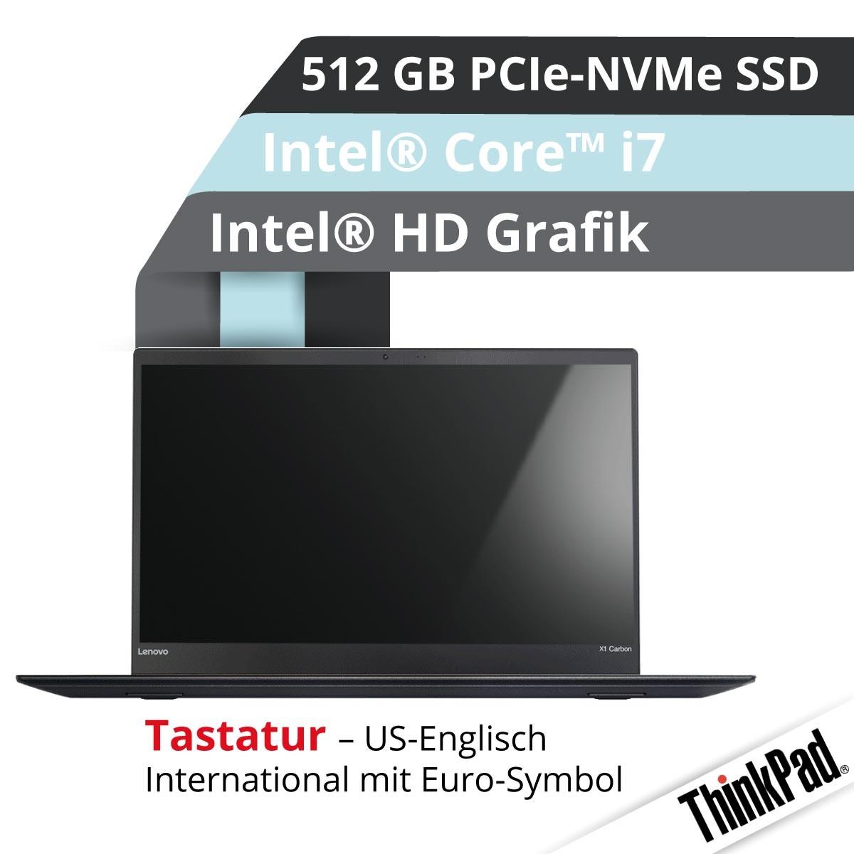 (EOL) Lenovo™ ThinkPad® X1 Carbon Ultrabook Modell 20HQ-S42D (US)
