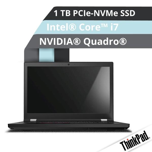 Lenovo™ ThinkPad® P15 Notebook Modell 20ST-003P
