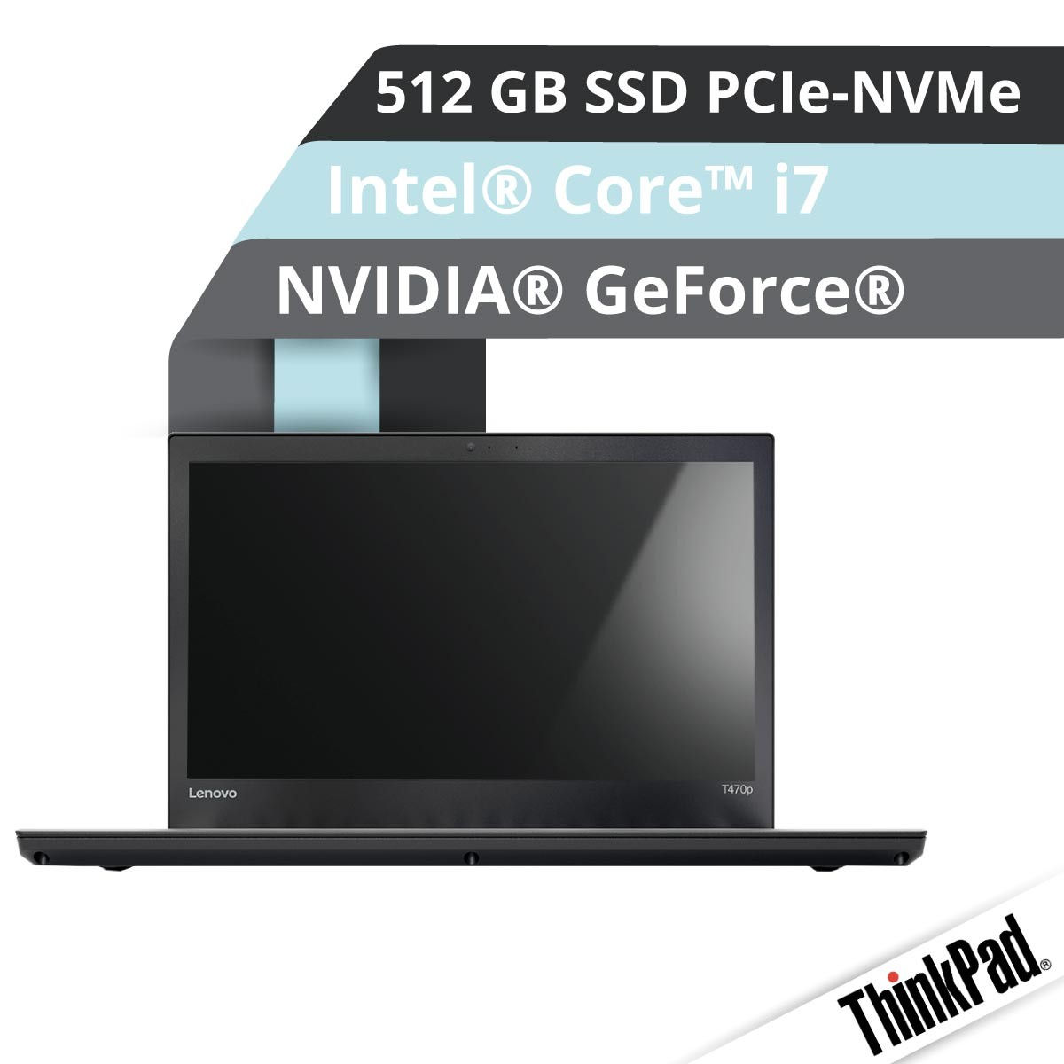 (EOL) Lenovo™ ThinkPad® T470p Notebook Modell 20J7-S000