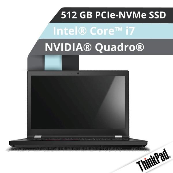 Lenovo™ ThinkPad® P15 Notebook Modell 20ST-000X
