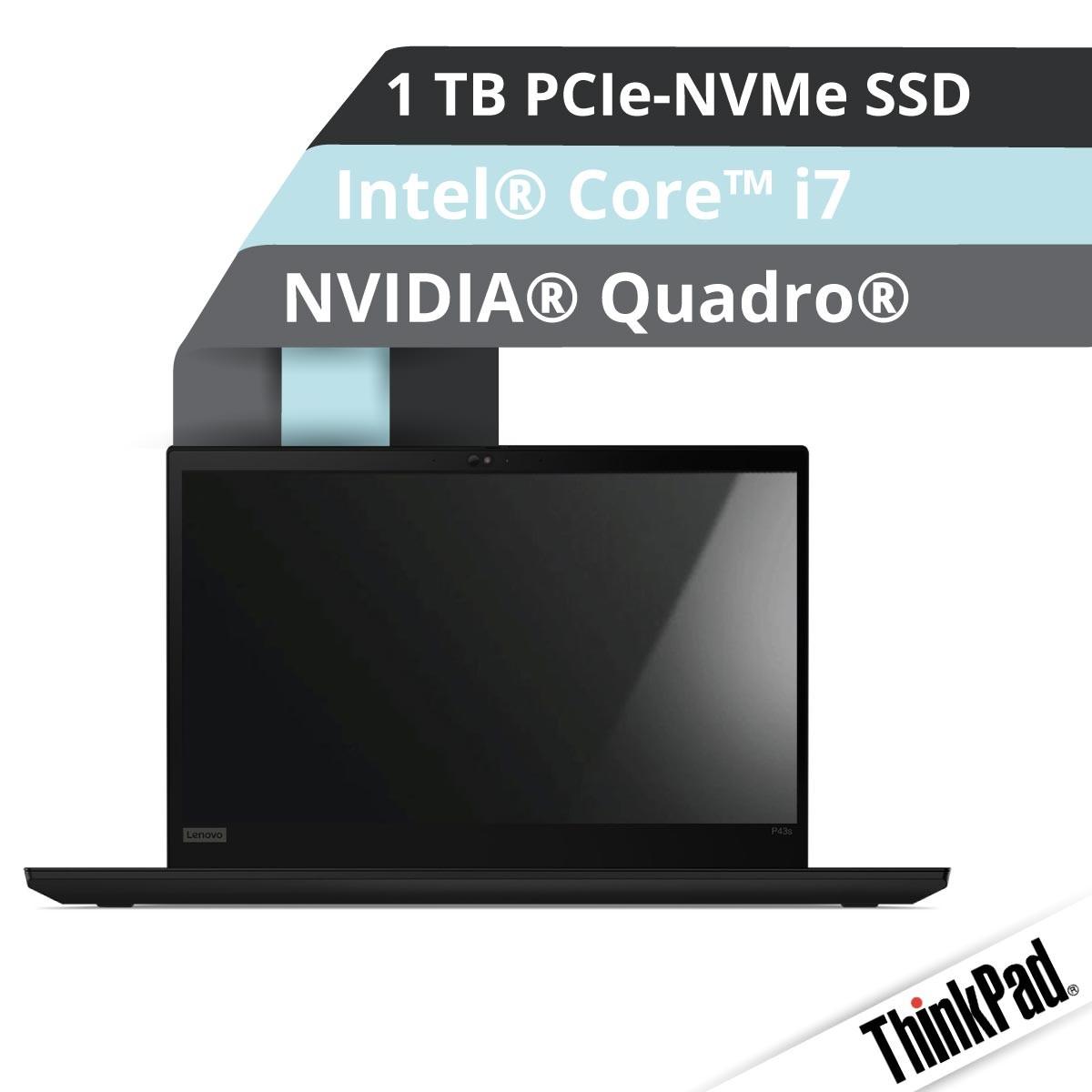 (EOL) Lenovo™ ThinkPad® P53s Workstation Modell 20N6-001R