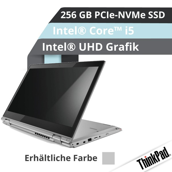 Lenovo™ ThinkPad® L380 Yoga Notebook Modell 20M7-001D (Silber)
