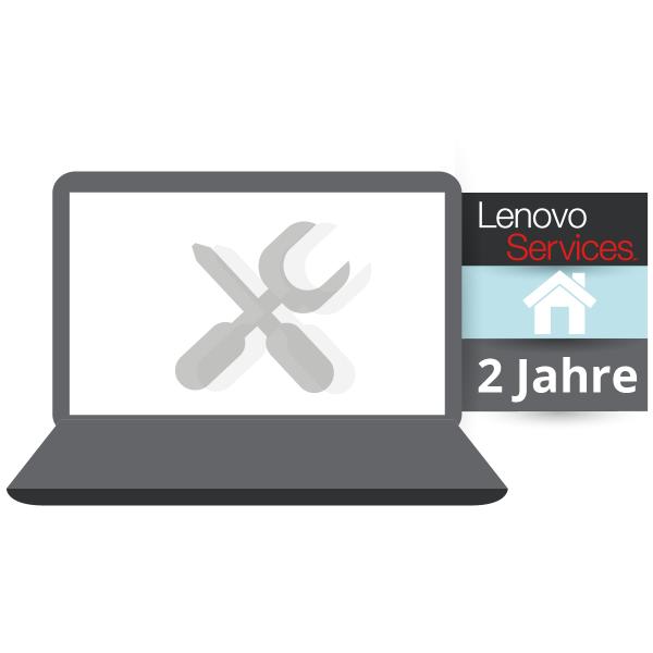 Lenovo™ Garantie Upgrade - 2 Jahre Vor-Ort-Service (NBD) - Basisgarantie 1 Jahr Bring-In