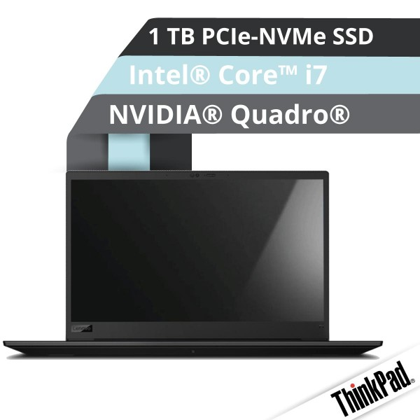 Lenovo™ ThinkPad® P1 (Gen.3) Workstation Modell 20TH-000N