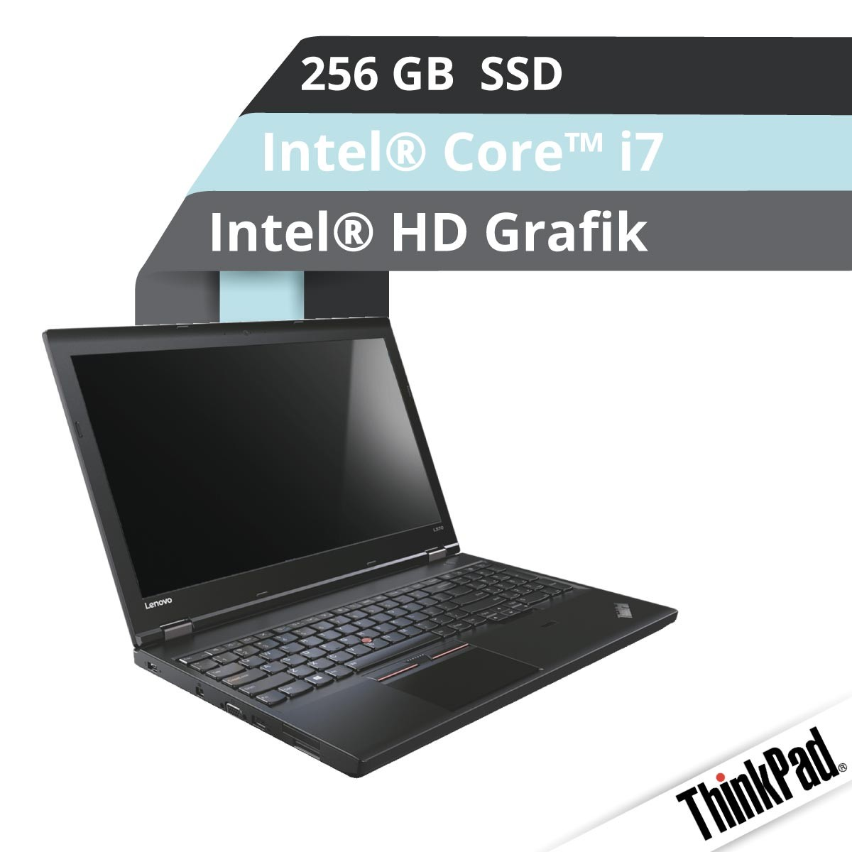 (EOL) Lenovo™ ThinkPad® T570 Notebook Modell 20JW-000A