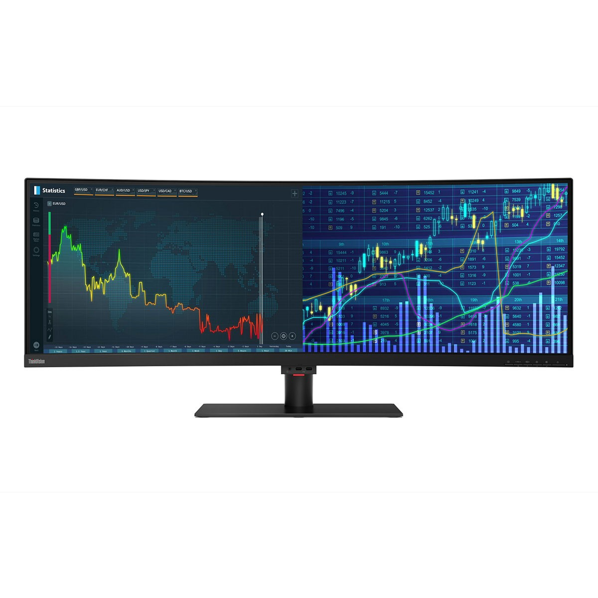 (EOL) Lenovo™ ThinkVision® P44w Bildschirm Modell 61D9-RAT1
