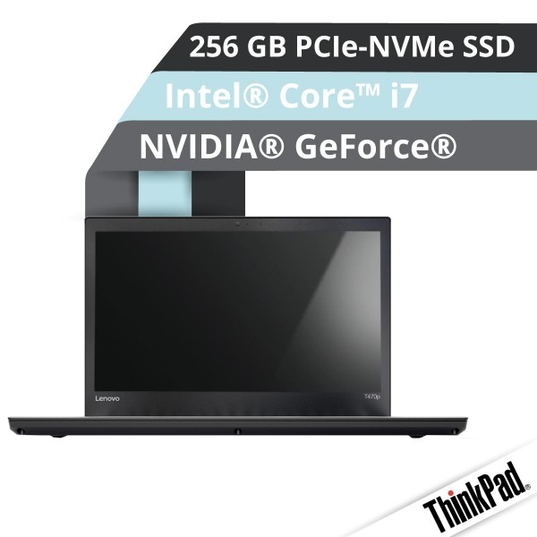 Lenovo™ ThinkPad® T470p Notebook Modell 20J6-0018