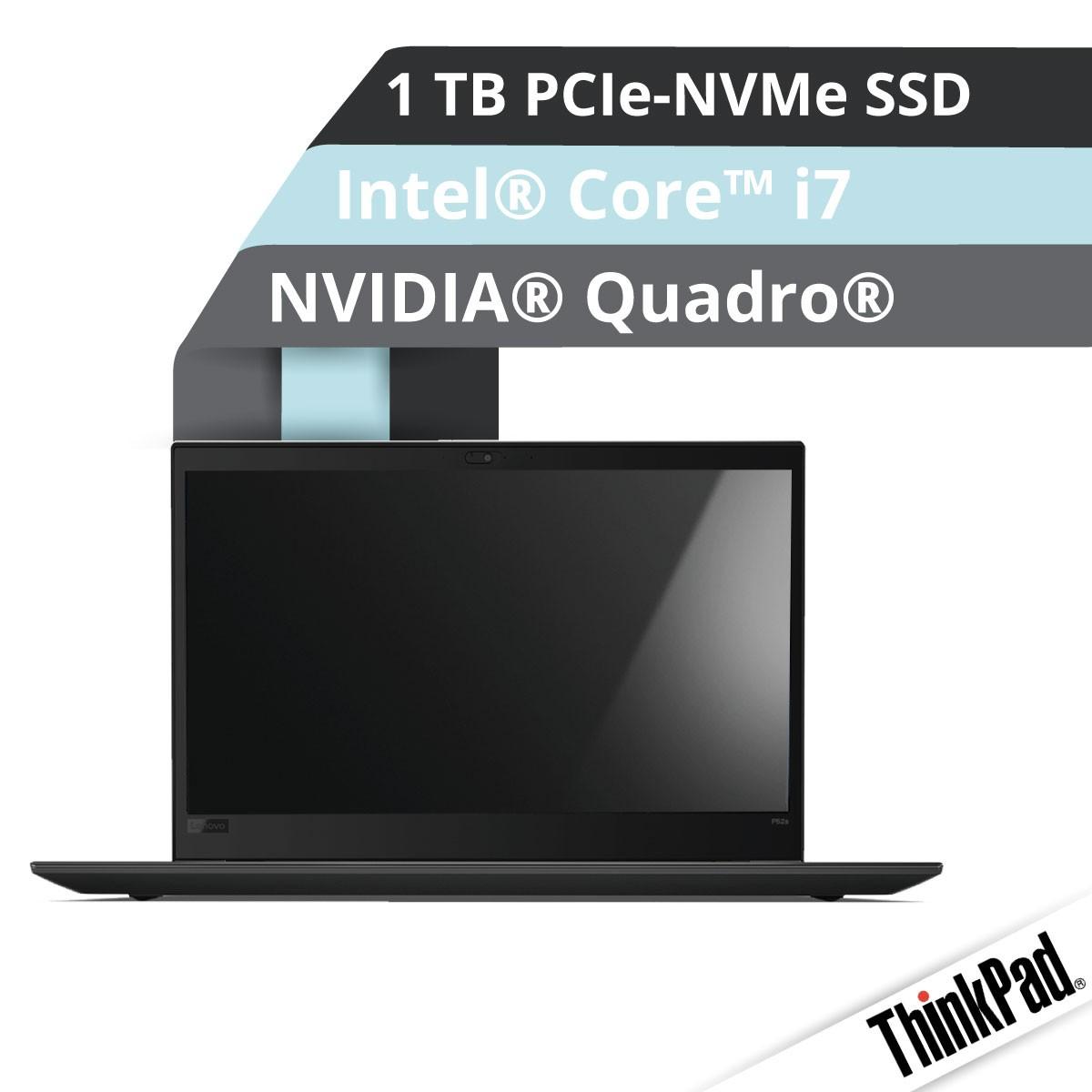 (EOL) Lenovo™ ThinkPad® P52s Workstation Modell 20LC-S01B