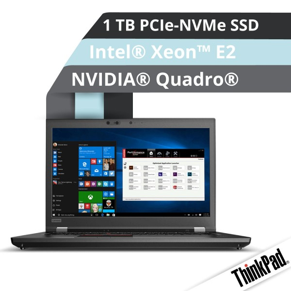 Lenovo™ ThinkPad® P72 Workstation Modell 20MB-0000
