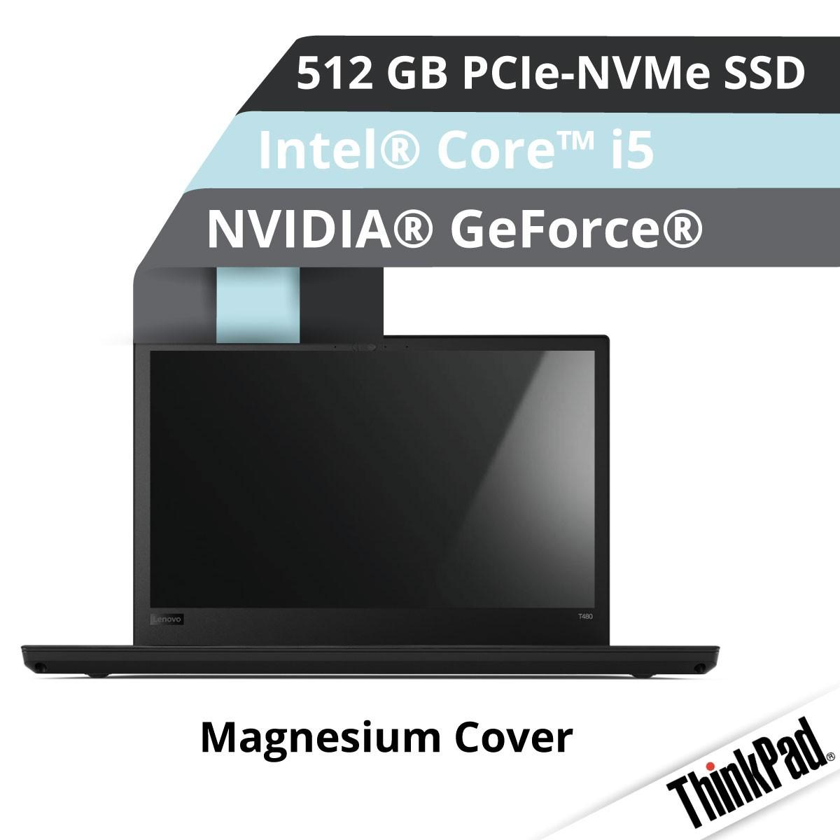 Lenovo™ ThinkPad® T580 Notebook Modell 20L9-0021 Demoartikel