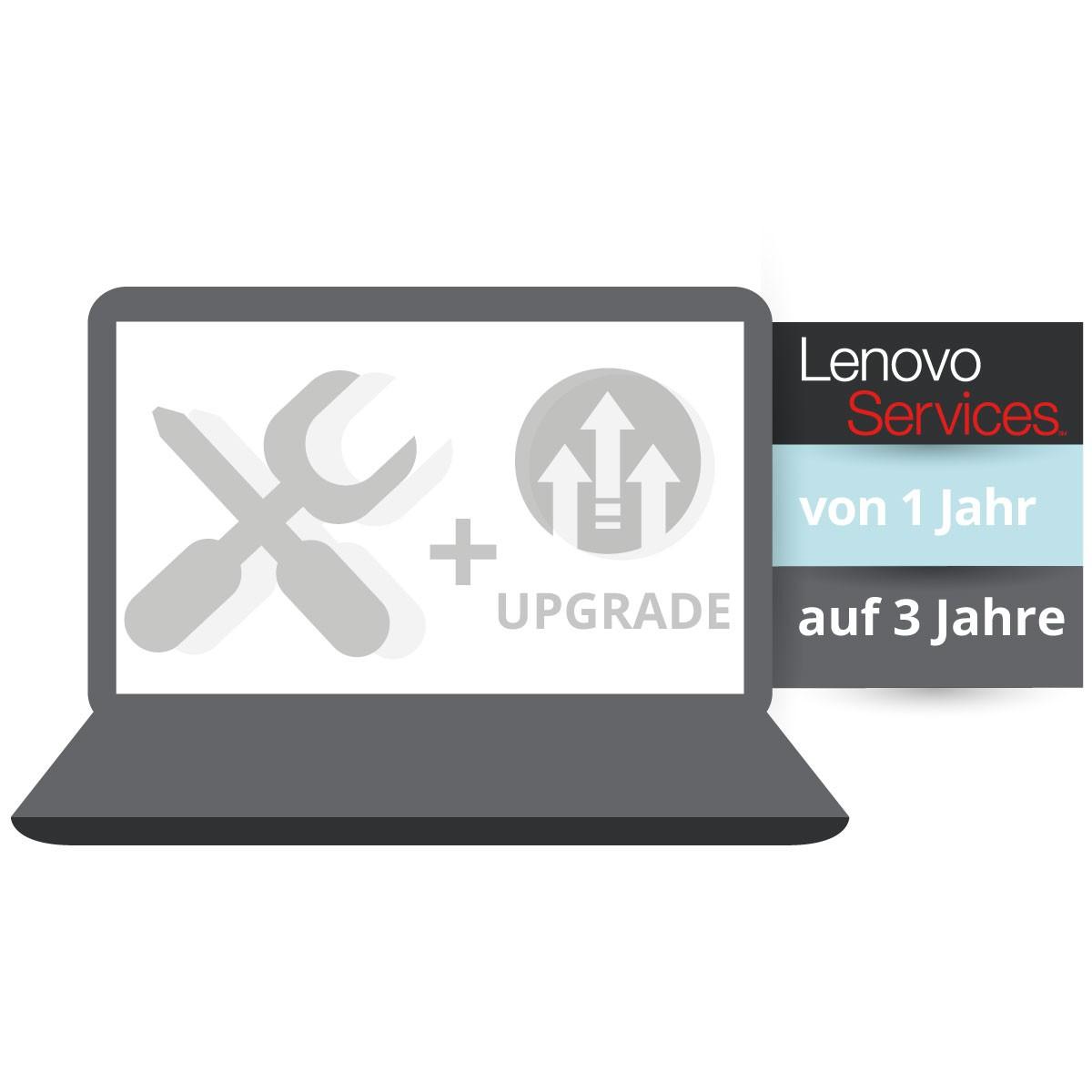 (EOL) Lenovo™ ThinkPlus® 3 Jahre Bring-In + Unfallschutz