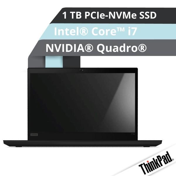 Lenovo™ ThinkPad® P15s (Gen.2) Notebook Modell 20W6-005J