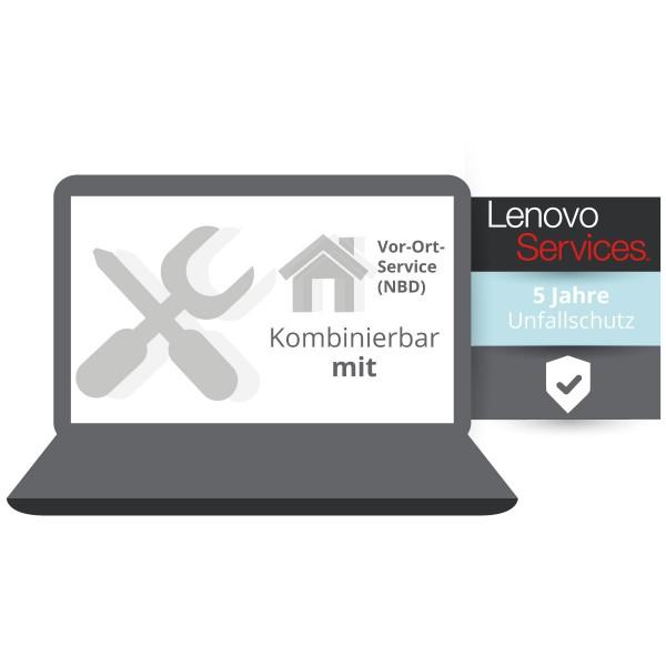 Lenovo Garantieerweiterung auf 3 Jahre Vor-Ort-Service + Unfallschutz