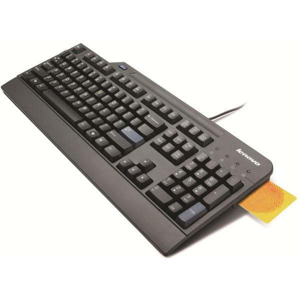 Lenovo™ USB-Smartcard-Tastatur – Deutsch