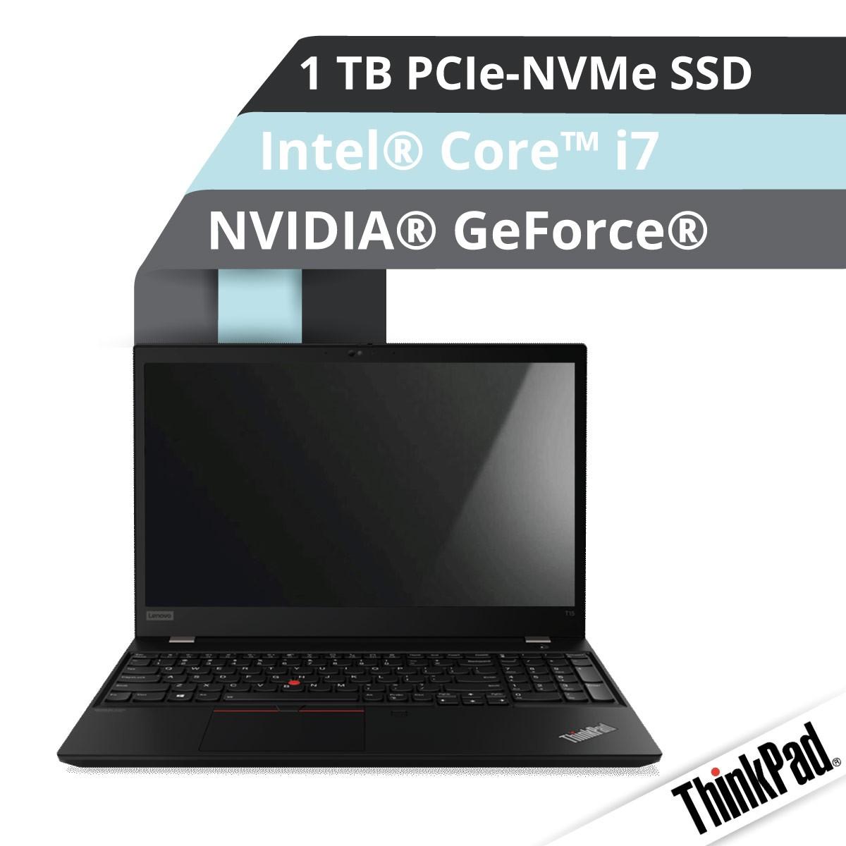 (EOL) Lenovo™ ThinkPad® T15 Notebook Modell 20S7-S02U