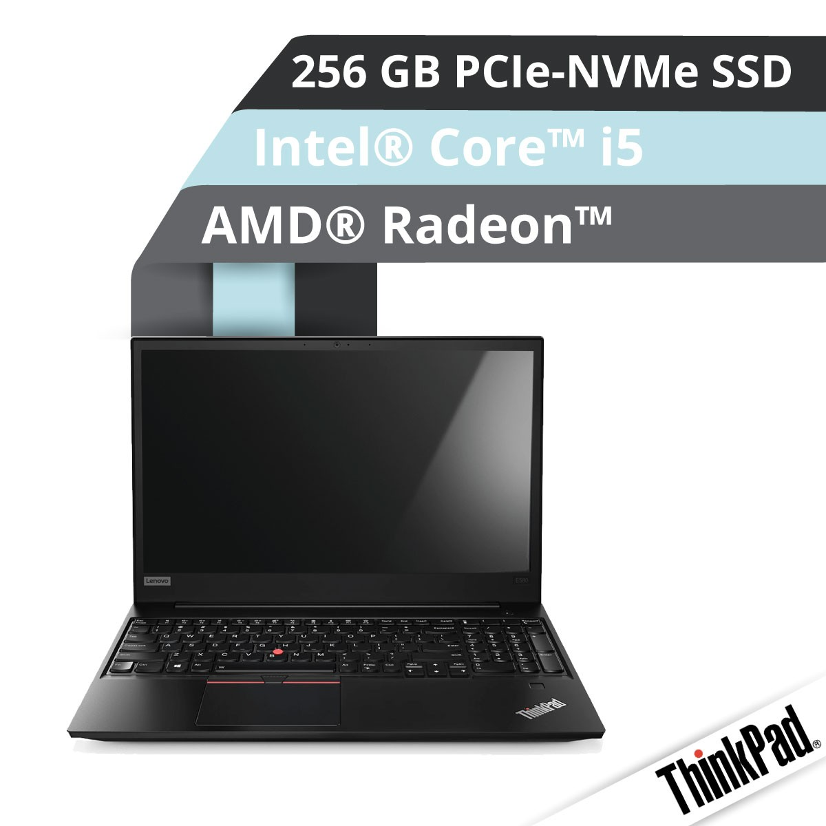 (EOL) Lenovo™ ThinkPad® E580 Notebook Modell 20KT-A001