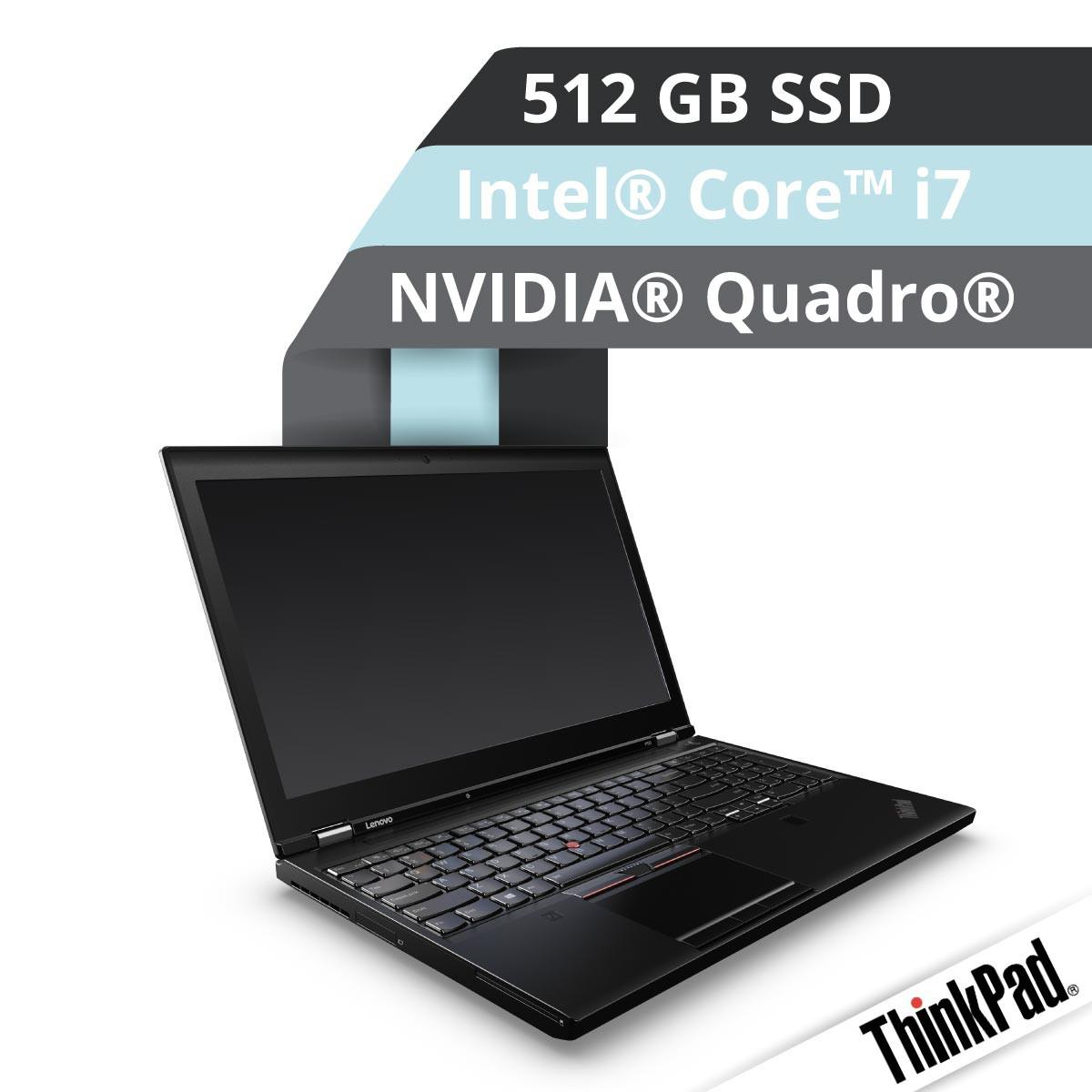Lenovo™ ThinkPad® P50 Workstation Modell 20EQ-S006 Demoartikel
