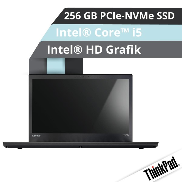 Lenovo™ ThinkPad® T470p Notebook Modell 20J6-001A