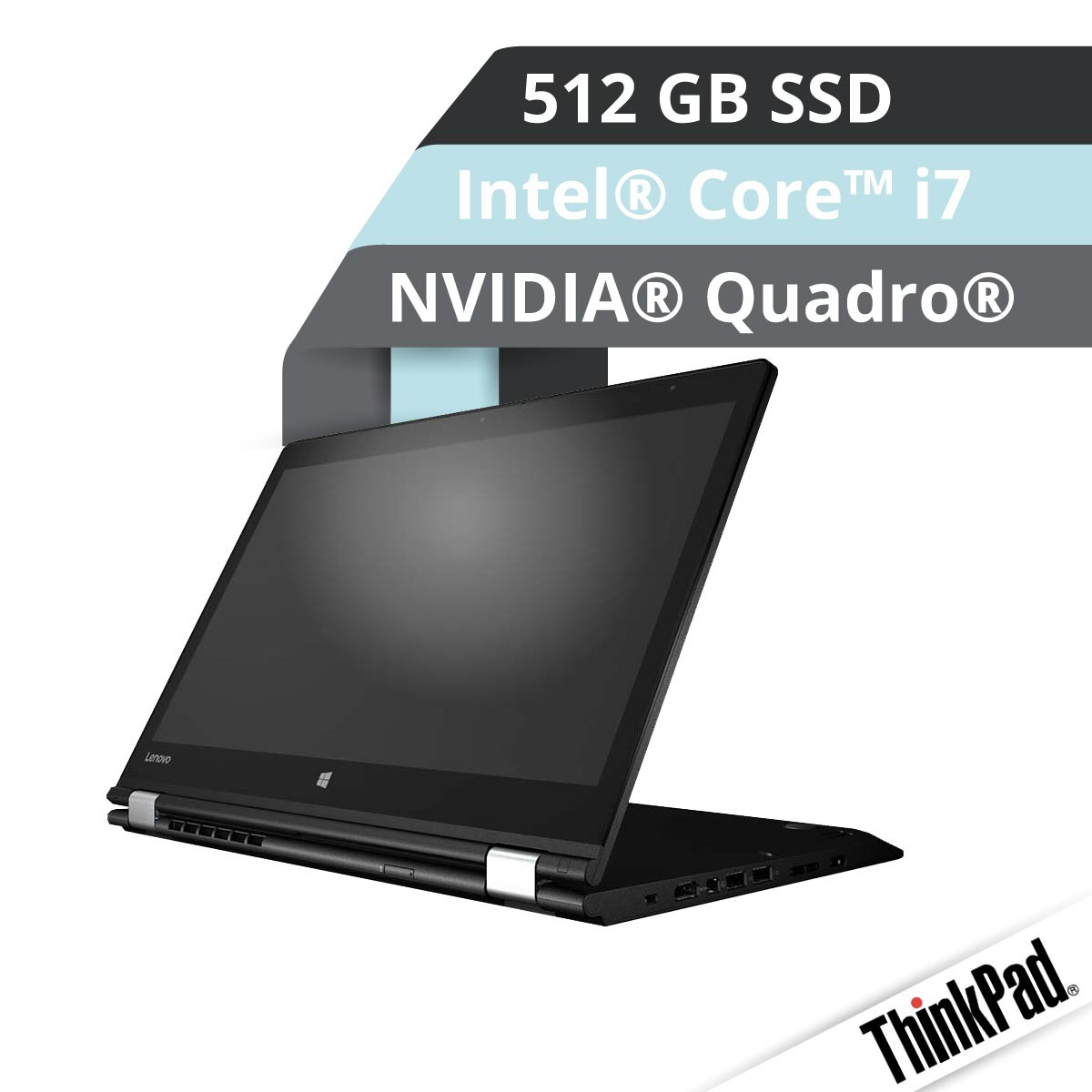 (EOL) Lenovo™ ThinkPad® Yoga P40 Multimode Workstation Modell 20GQ-001S