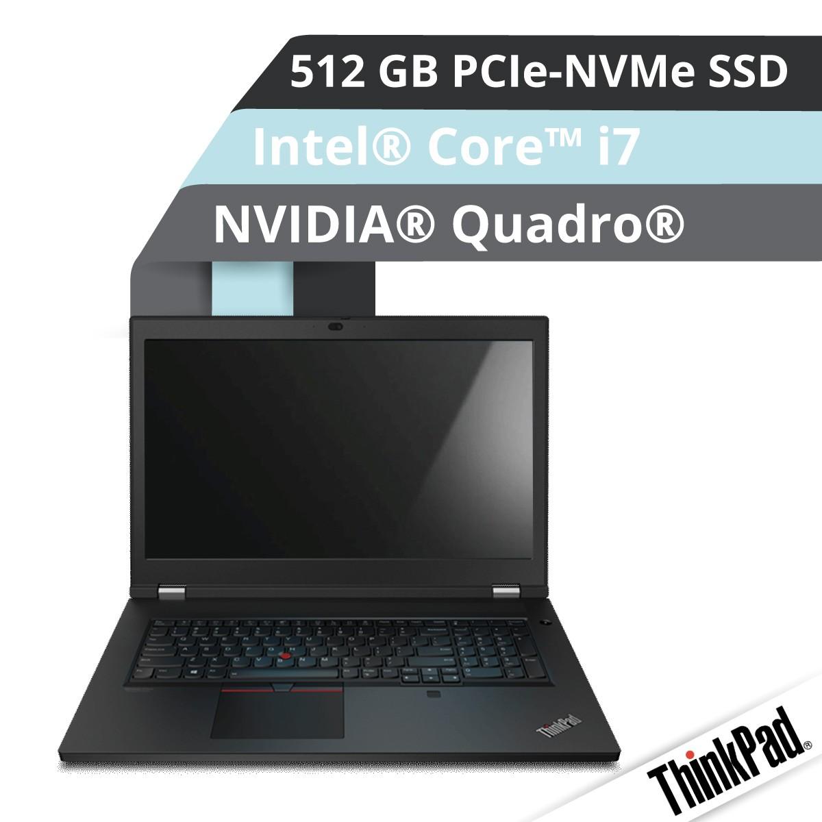 (EOL) Lenovo™ ThinkPad® P17 Notebook Modell 20SN-002R